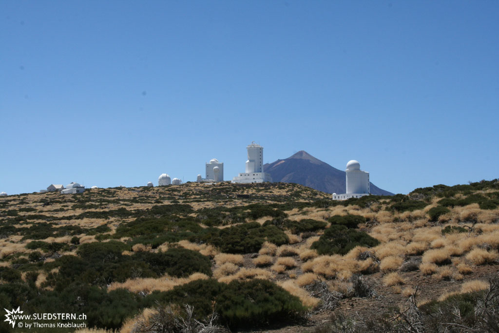 Observatories of Izaña in front of Teide (Teneriffa) - IMG 0286