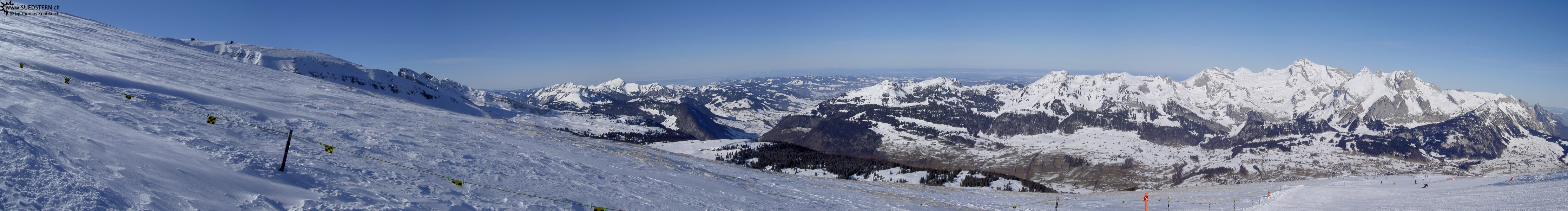 2008-02-03 - Panorama of Säntis-Mountains, Switzerland