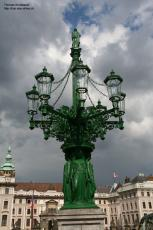 Big lantern, Prague, Czechia
