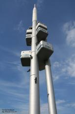 Pragues radio tower, Czechia